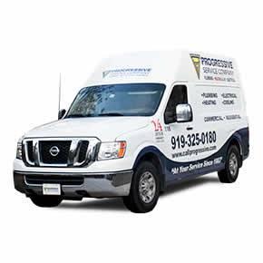 Progressive Service Company Van