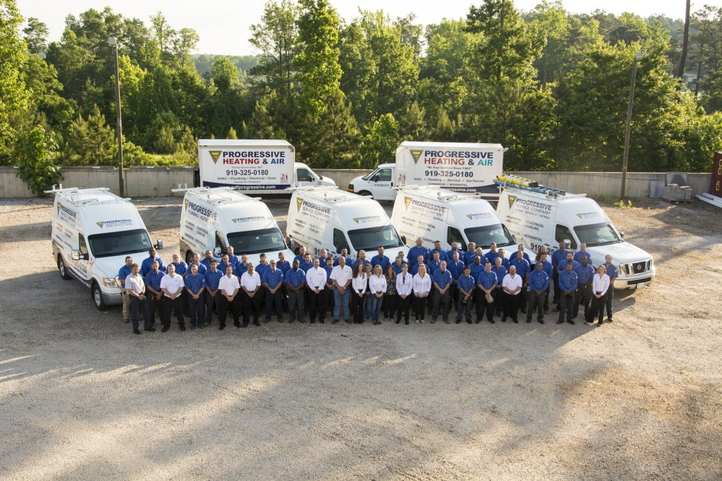 Progressive Service Company Raleigh team