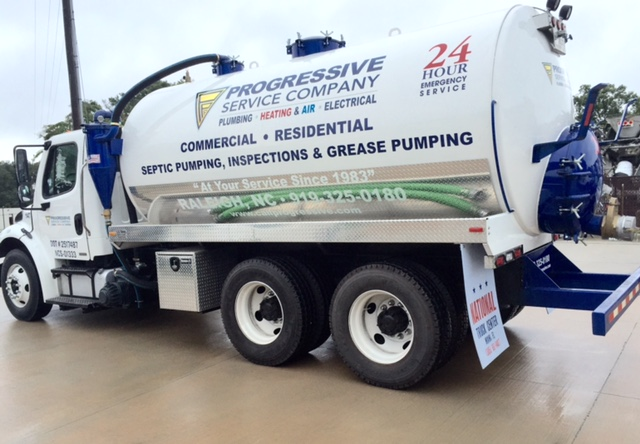 Raleigh Commercial Septic Pumping