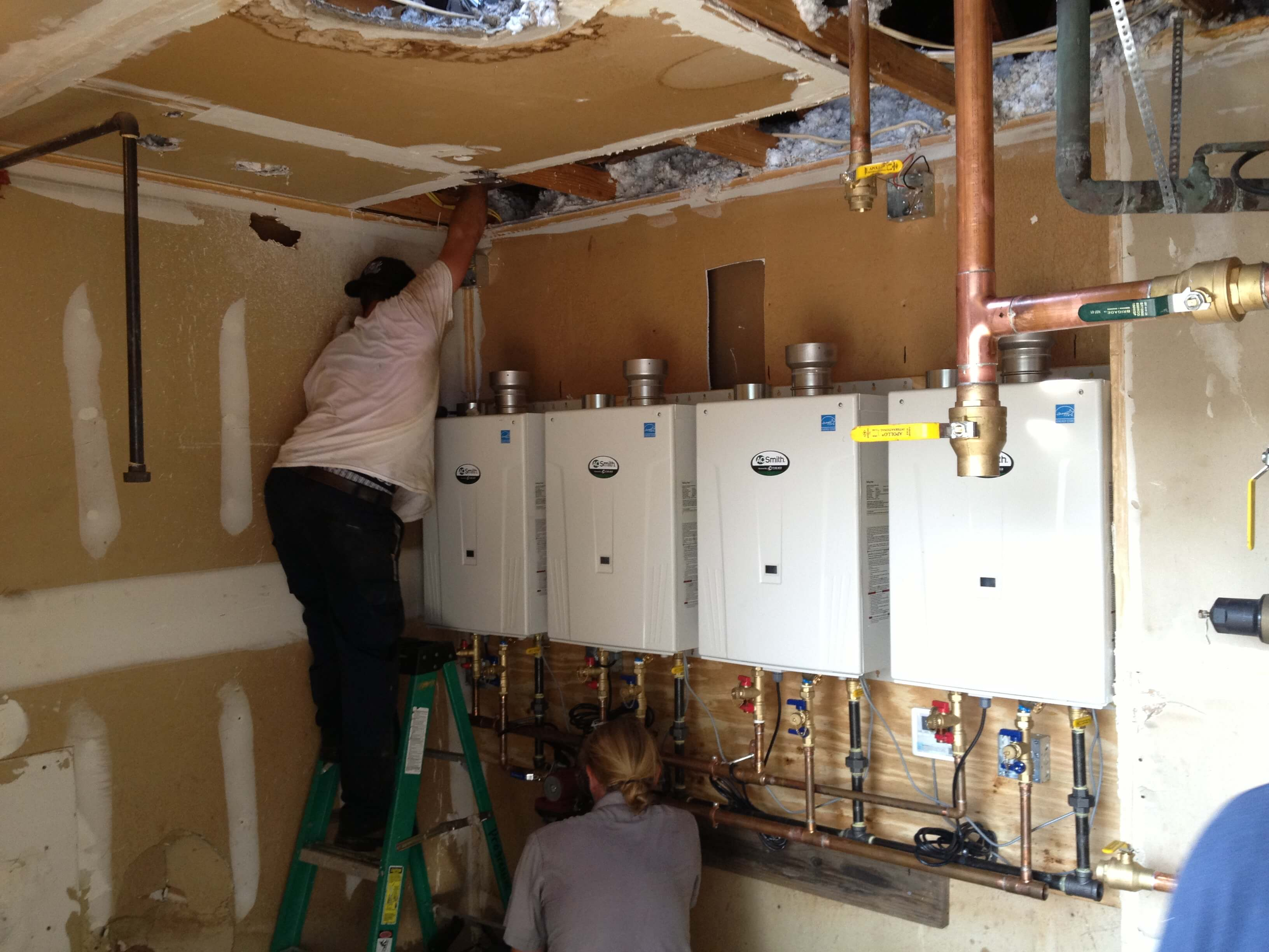 Raleigh Plumbing Hvac Electrical Gallery Commercial Wiring Jobs Projects