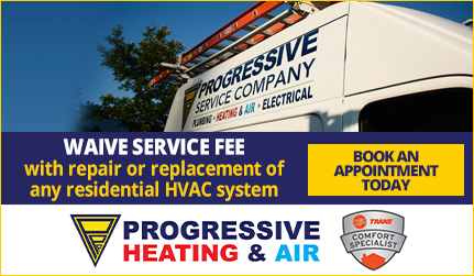 Progressive Plumbing - Waive Service Fee