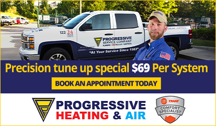 Progressive Plumbing - Tune up Special $69